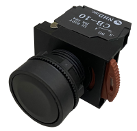 Black Maintained Push Button Switches: NPB22-L10B